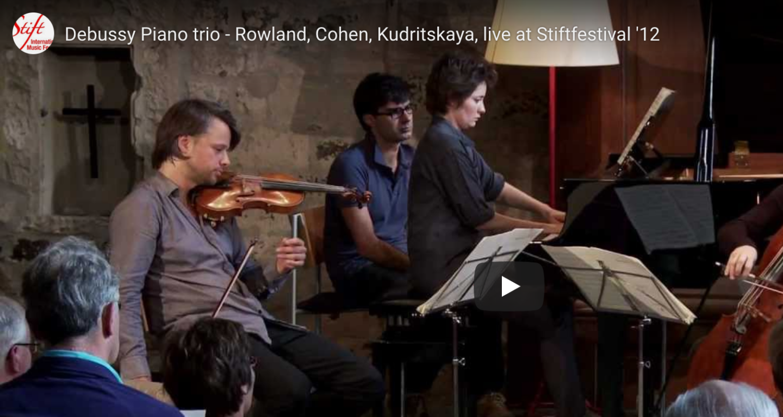 Debussy: Piano Trio