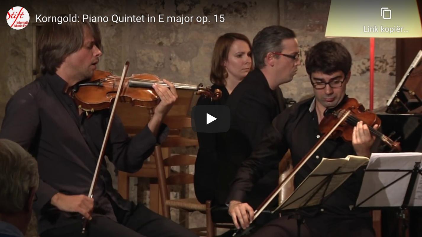 Korngold Piano Quintet
