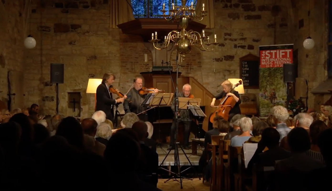 Cecilia Damstrom: String Quartet 'Letters', world premiere performance at Stift Festival 2018