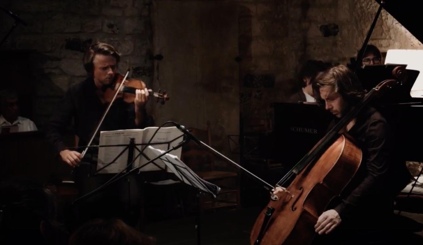 Shostakowitch Piano Trio 2 at the Stift Festival - Rowland, Cohen, Kudritskaya