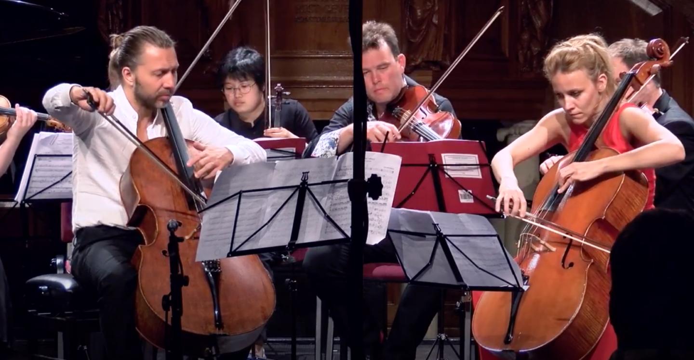 Giovanni Sollima: Violoncelles, vibrez! David Cohen & Maja Bogdanovic at Stift Festival '17